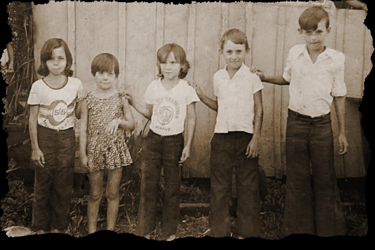 Irmãos Dargas : Edilson Dargas, Vilso Dargas, Moacir Dargas, Gelson Dargas e Leomar Dargas.